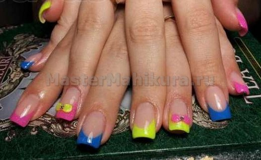 Цветные бантики