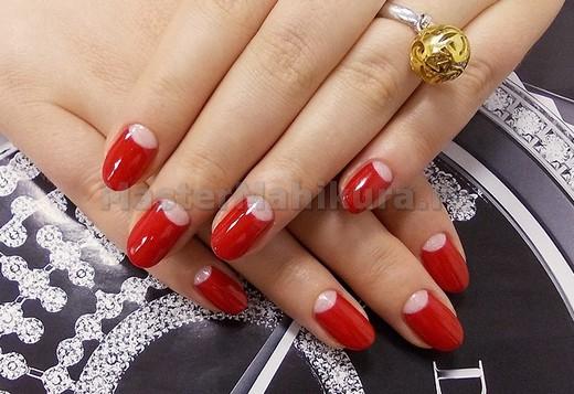 Красный цвет в лунном стиле