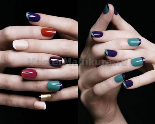 Игра цвета на пальчиках рук