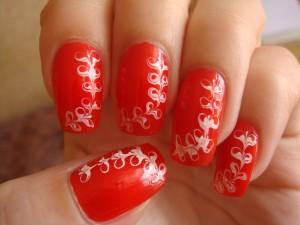 Как использовать иголку при рисовании на ногтях