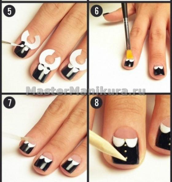 Рисунки на ногтях своими руками фото