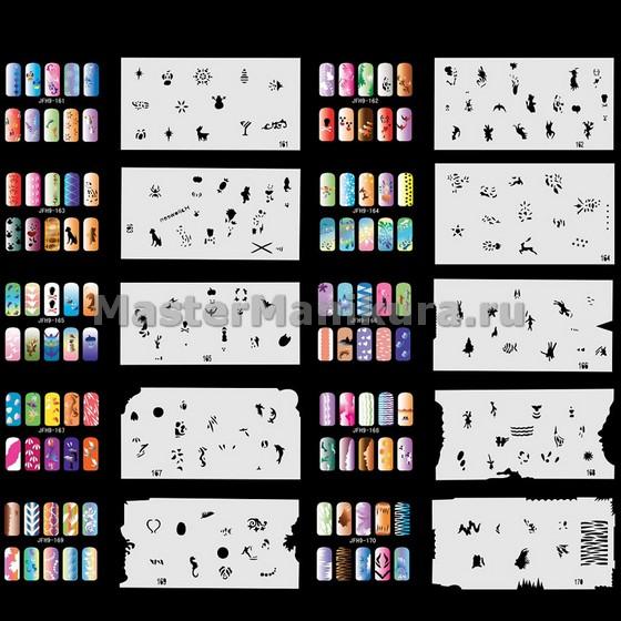 Аксессуары для создания первоклассного дизайна: полоски, наклейки и трафареты в помощь начинающему мастеру