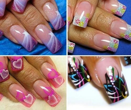 Фантазийные узоры для ногтей