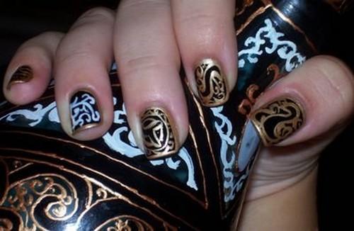 Проявление фантазии в узорах для ногтей