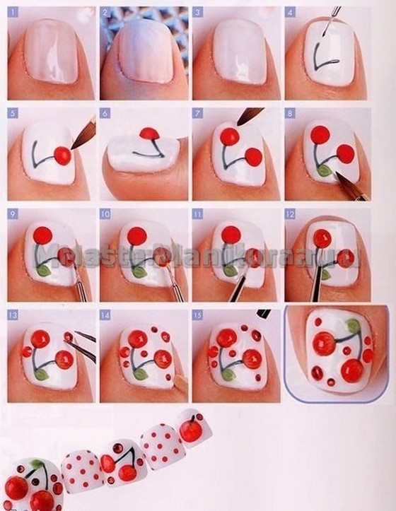Какой рисунок нарисовать на ногтях в домашних условиях