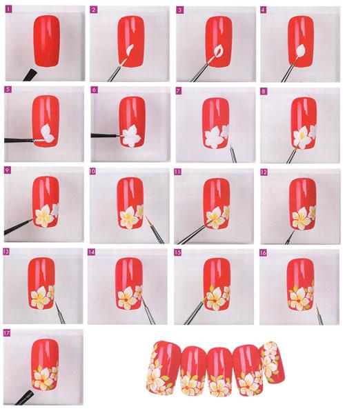 Маникюр рисунки на ногтях для начинающих