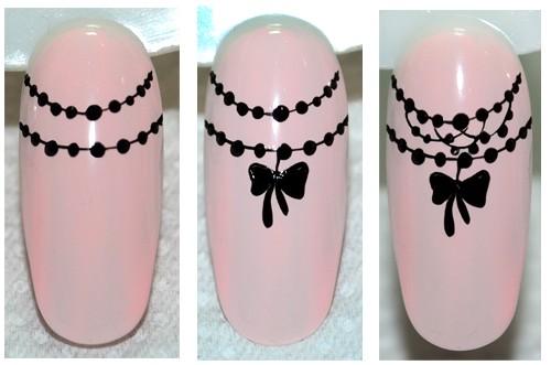 Воздушный дизайн ногтей с кружевом