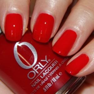 Красный лак Орли