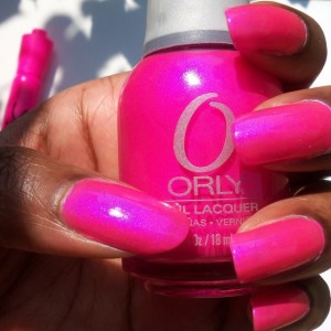 Розовый цвет в палитре лаков ORLY