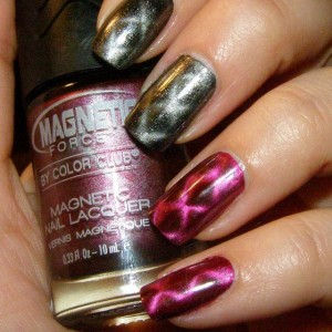 Удивительные возможности лака для ногтей с магнитом