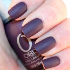 Коричневый матовый лак для ногтей Orly