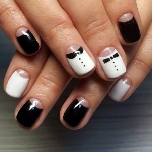 Черно-белый дизайн Шеллак