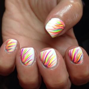 Дизайн ногтей Shellac на руках