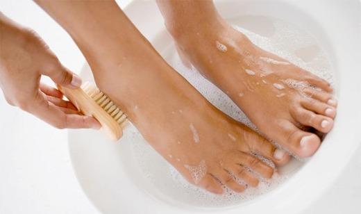 Ванночка для ног перед педикюром