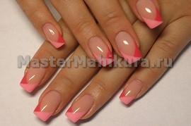 Кривые розовые линии