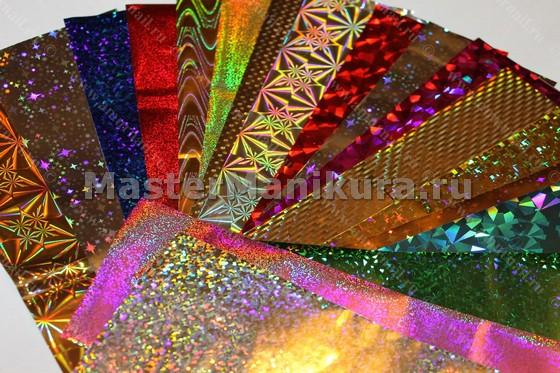 Разнообразные цвета фольги