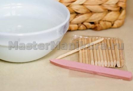 Материалы для предварительной подготовки ногтей