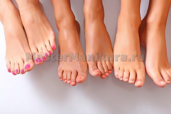 Грибок ногтей на пальцах ног