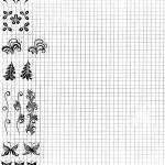 Лист для рисования на ногтях для новичков