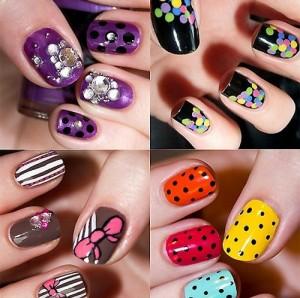Идеи простого дизайна на ногтях