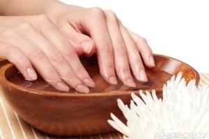 Как растить ногти правильно - ванночки