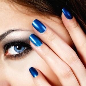 Синий магнитный лак
