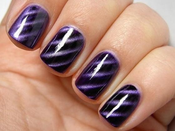 Магнитный лак на ногтях