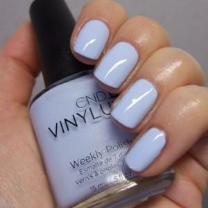 Светло-голубой лак для ногтей Vinylux