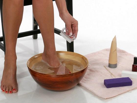 Ванночка для обрезного педикюра