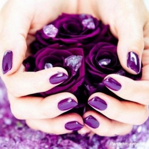 Фиолетовый лак Шеллак