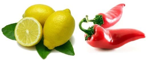 Лимон и паприка
