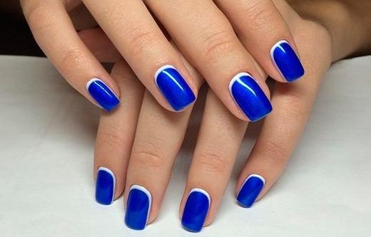 Очень красивый синий антифренч